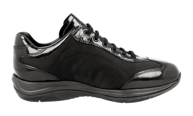 Lujo prada cortos zapatos 3e5793 negro nuevo New 39 39,5 UK UK 39,5 6 b34353