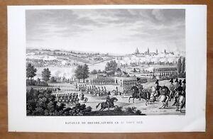 Eau-forte-Bovinet-d-apres-Couche-Bataille-de-Dresde-1813-debut-XIXe-siecle