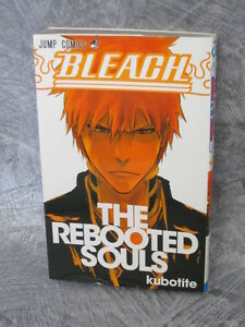 BLEACH-Rebooted-Souls-Fanbook-Art-Works-TITE-KUBO-Book-2012-Ltd