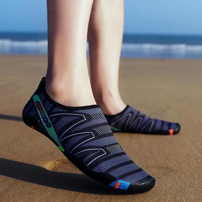 Mens Toggle Surf Aqua Beach Water Socks Sport Yoga Swim Pool Water Trainer Shoes