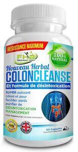 COLON-CLEANSE-Nettoyage-Du-Colon-Naturel-Detox-Base-De-Plantes-Comprime-Minceur