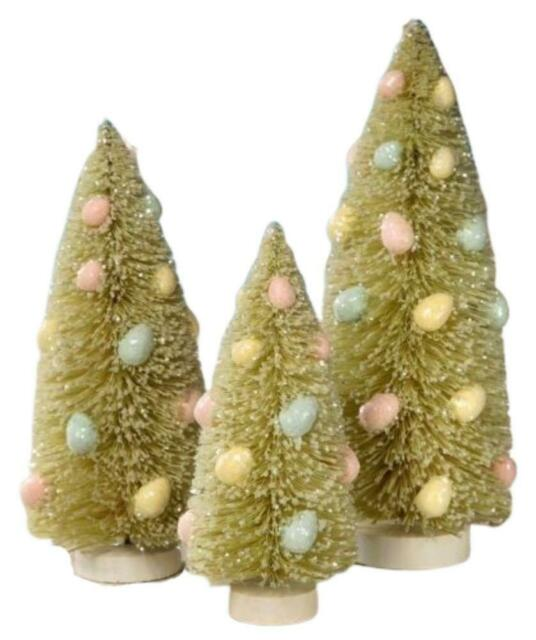 Does Lowes Sell Christmas Trees: Bethany Lowe Pastel Furry Chicks Easter Spring Decorations