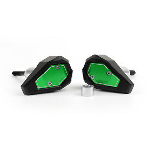 New-Frame-Sliders-Crash-Pads-Protector-For-Kawasaki-ZX6R-2013-2014-2015-Green