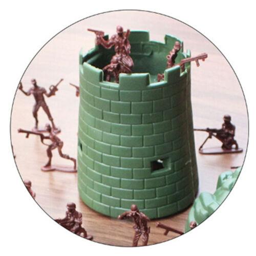 100X 4cm Armee-Kampf Männer Plastiksoldaten Figur AktionKid-Geschenk-SpielzeABO