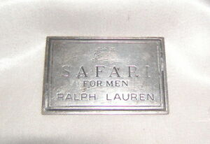 S A F A R I Perfume Pin for Rlaph Lauren