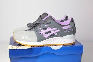 95ef091e7043 Asics Gel Lyte III Easter Pack H572L Grey Lilac Purple 3 5 Womens ...