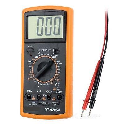 Creativo Gauge Digital Multimeter Voltmeter Con 2 Prüfkabeln Tensione Revisore-r It-it