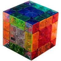Moyu Aosu Transparent Cube 4x4 Crystal Stickerless 4x4x4 Speed Puzzle Toy