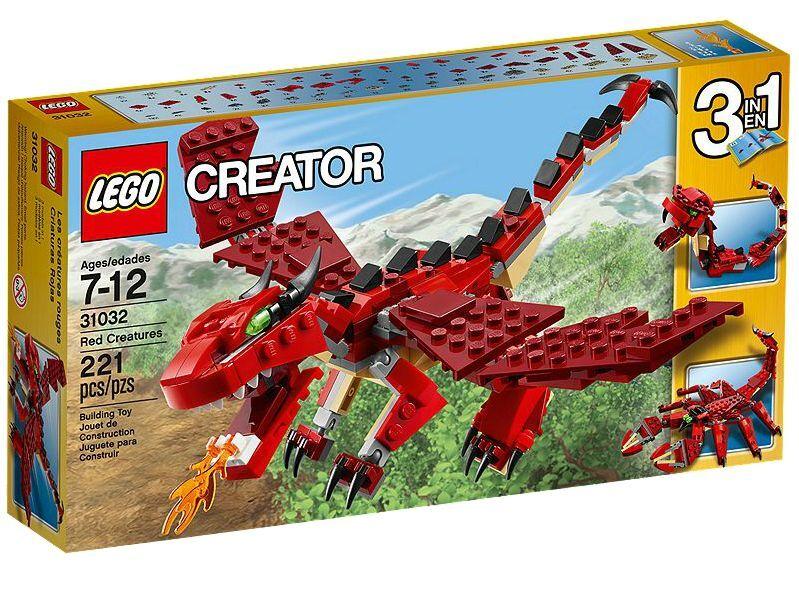LEGO® Creator 31032 Rote Kreaturen NEU OVP_ rot Creatures NEW MISB NRFB    Shop Düsseldorf