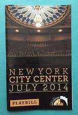 FAUST (Encores) Concert Playbill w/ Michael Cerveris, Randy Newman, Laura Osnes