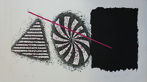 James-Rosenquist-034-Black-Star-034-Large-Original-Signed-and-numbered-etching-MINT-CD
