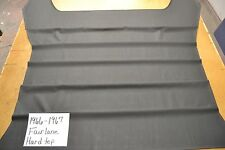 1966 66 1967 67 FORD FAIRLANE HARDTOP BLACK HEADLINER USA MADE TOP QUALITY