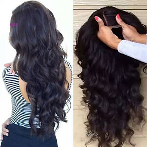 Pre-Plucked-Closure-Lace-Frontal-Wigs-Brazilian-Virgin-Human-Hair-Full-Lace-Wig