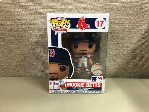 Funko POP MLB Boston Red Sox MVP Outfielder Mookie Betts #17 NIB Baseball