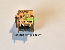 SIEMENS POWER RELAY PURE COPPER 6V/16A SMALL DIMENTIONS FOR PCB