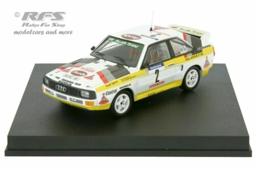 Audi Sport Quattro  Walter Röhrl  Rallye Tour de Corse 1984  1:43 Trofeu 2801