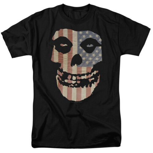MISFITS FIEND FLAG Licensed Adult Men/'s Graphic Band Tee Shirt SM-6XL