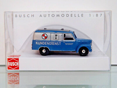Box Truck Busch 51247 H0 1:87 New Original Packaging Price Remains Stable Framo V901/2 Emw