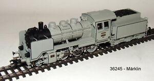 Marklin-36245-locomotive-a-vapeur-BR-24-dans-le-gris-Peinture-photographie