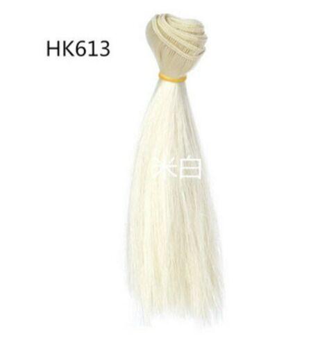15*100cm DIY Doll Wigs Hair For BJD//SD Doll Hair Multi-colors Straight Hair Wigs