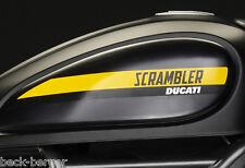 DUCATI Scrambler Full Throttle Logo Aufkleber Sticker Set Decals NEU 2015 !!