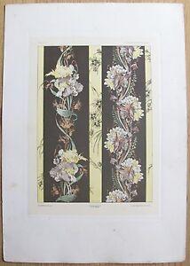 FANTAISIES-DECORATIVES-Planche-21-Imp-Gillot-ROUAM-1887-ill-HABERT-DYS-gt-gt-gt