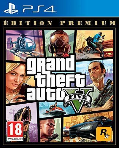 Jeu PS4 Français GTA V Edition Premium Braqueur Banque Ville Sans Pitié Crimes
