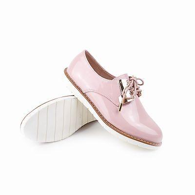 Schnürer Sergio Todzi Damen Plateau Sneaker Shabby Chic Pastell Rosa Gold
