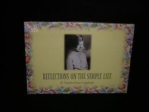 Longaberger-Grandma-Bonnie-Reflections-on-the-Simple-Life-Booklet-New-amp-Sealed