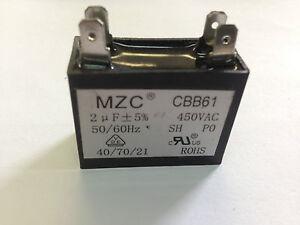 KELVINATOR LG  SAMSUNG 5uf Capacitor 440Volt 50hz Motor Start// Run   Capacitor