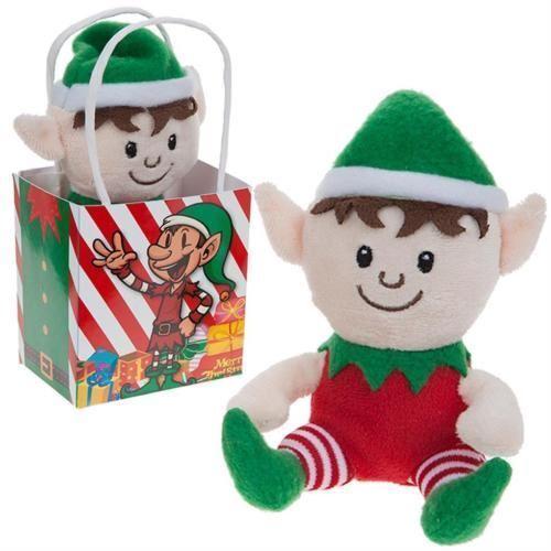 "6"" Naughty Elf Plush Soft Toy Put On the Shelf Gift Kids Christmas Stocking Toy"