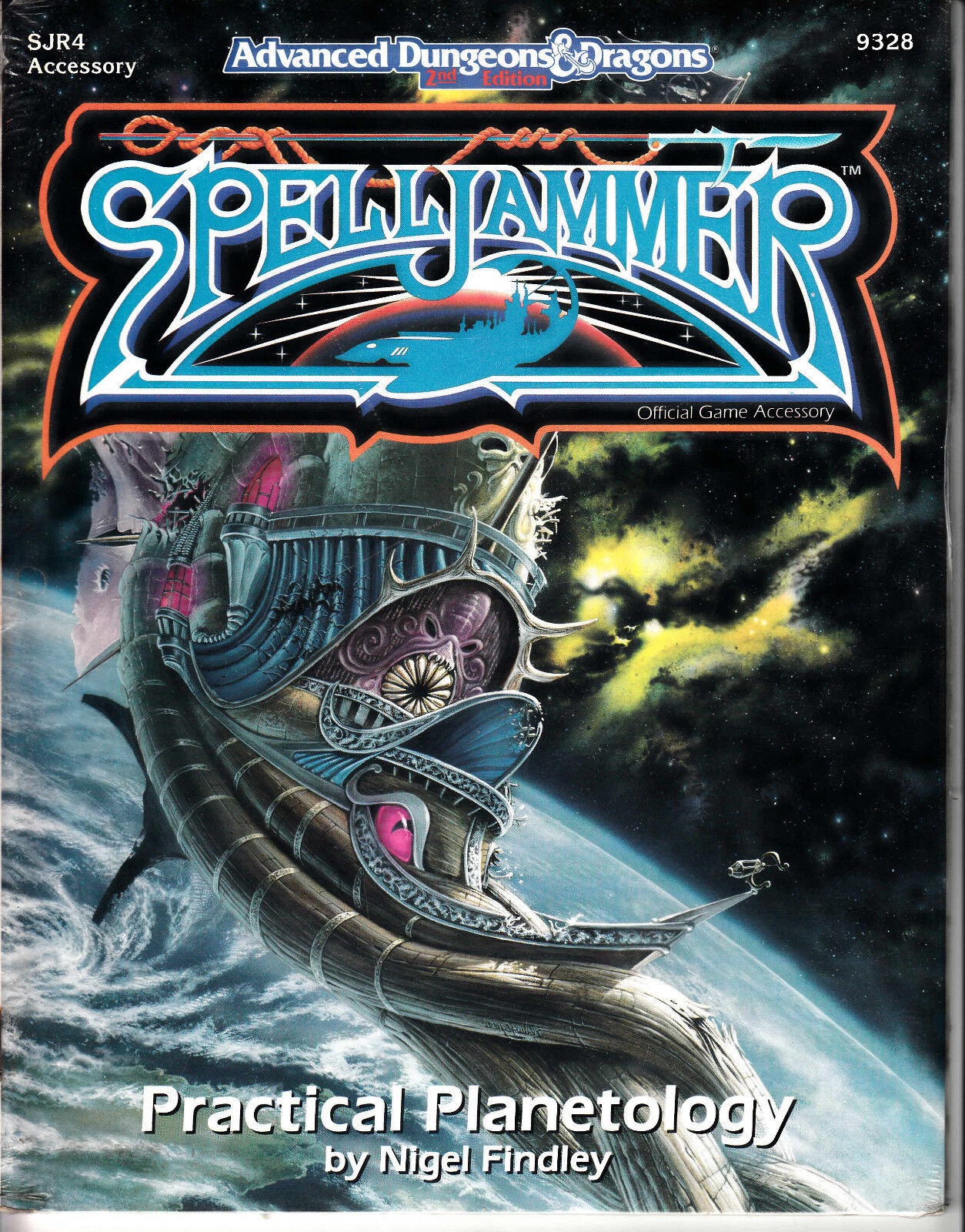 AD&D - Spelljammer - Practical Planetology - TSR 9328 - NEW ENG Game Accessory