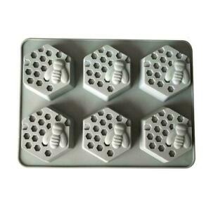 Honey Bee Silicone Mould Soap Resin Clay Wax Cake Mold DIY Bake Craft V8G9