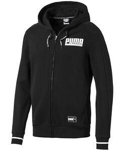 0ca0bd4eace9 Men s New Puma Zip Hooded Sweatshirt Hoodie Hoody Jumper Pullover ...