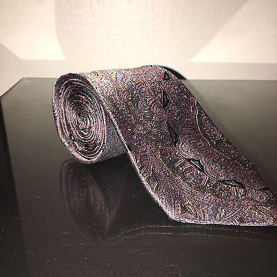 Carlo Palazzi 100% Italian Silk Neck Tie Unique Pattern & Colors