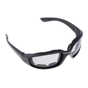 lunettes-de-Moto-Protection-de-Yeux-Visage-Lunette-de-Soleil-Gris