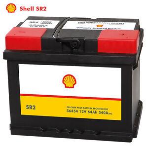 shell sr2 autobatterie 12v 64ah starterbatterie ersetzt. Black Bedroom Furniture Sets. Home Design Ideas