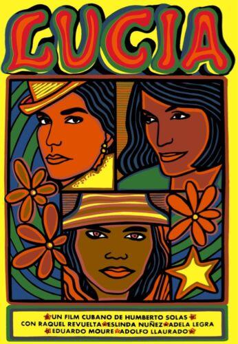 8771.Lucia.cuban film.images of three women.POSTER.movie decor graphic art