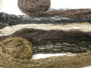 RECYCLED-FISH-NETS-MIXED-MISC-BOX-MANY-COLORS-amp-SIZES-DECOR-10LB-BX