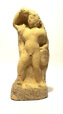 STATUETTE ROMAINE EN TERRE CUITE APOLLON - 100 AD  - ANCIENT ROMAN APOLLO FIGURE