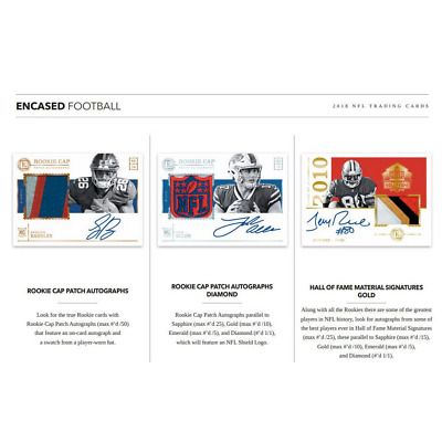 2018 PANINI ENCASED FOOTBALL HOBBY PICK YOUR PLAYER (PYP) 1 BOX BREAK