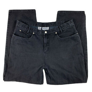 Pendleton-Originals-Women-039-s-Size-18-Denim-Jeans-Pants-Straight-Leg-Pockets-Black