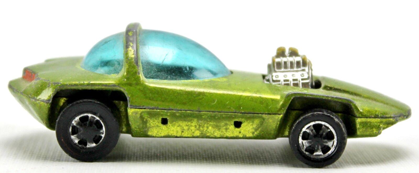 1967 Silhouette Lime Grün Antifreeze rotline Hot Wheels Hong Kong 1 64