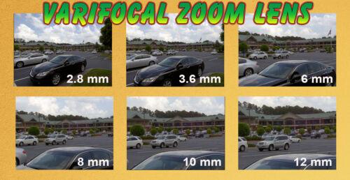5MP 1920P H.265 PoE IP Bullet Camera Waterproof 2.8-12mm Varifocal Lens 180FT IR