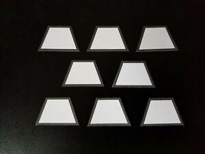 So5/Ne1-Tafeln für Spur LGB, selbstklebend, 8 Stück