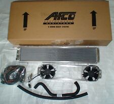 Supercharged 03-04 Cobra double dual pass AFCO heat exchanger intercooler fans