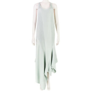 Stella-McCartney-Runway-Collection-Pale-Duck-Egg-Blue-Ribbed-Dress-IT38-UK6