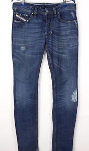 Diesel Hommes Larkee Jeans Jambe Droite Taille W32 L32 BCZ230