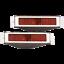 Polished Billet Specialties 61225 Open Bezel LED Aluminum Taillights