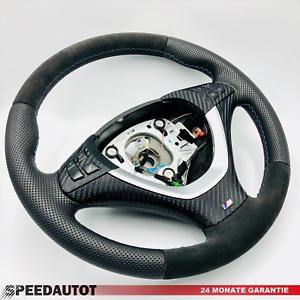 Tausch-Tuning-Alcantara-Lenkrad-BMW-E70-X5-E71-E72-X6-Steering-Wheel-Mit-Blende